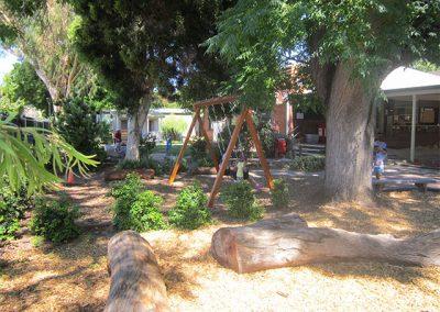 kindy's yard