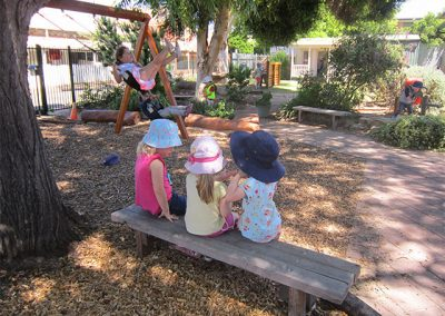 kindy's yard meeting
